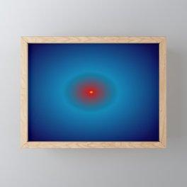 oval expansion Framed Mini Art Print