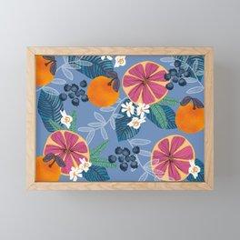 Fruity Vibes Framed Mini Art Print