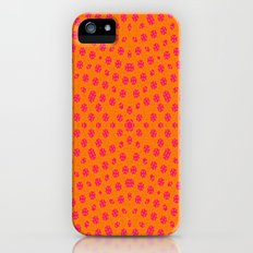 orange Pattern iPhone (5, 5s) Slim Case