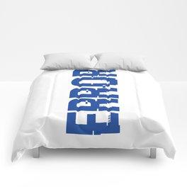 ERROR Comforters