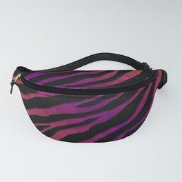 Ripped SpaceTime Stripes - Orange/Purple Fanny Pack
