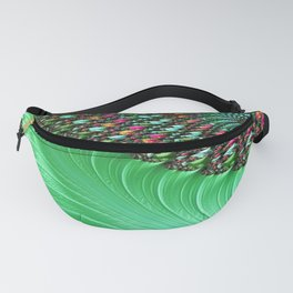Carnival Green Fanny Pack