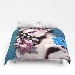 Depressed women Comforters