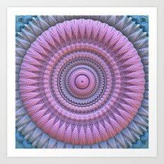 The Beauty of the Mandala Art Print