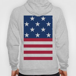 US Flag Hoody