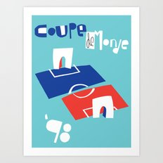 Coupe de Monde Art Print