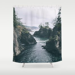 Samuel H. Boardman Shower Curtain