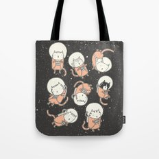 Cat-Stronauts Tote Bag
