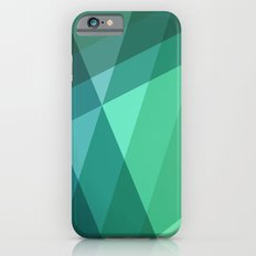 Fig. 046 Mint, Sea Green, Blue & Teal Geometric Slim Case iPhone 6s
