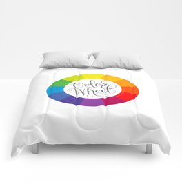 Color Wheel Comforters