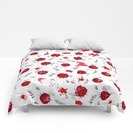 Little Ladybird   Inkies Pattern Collection Comforters