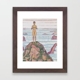 View Into Infinity by Ferdinand Hodler Framed Art Print