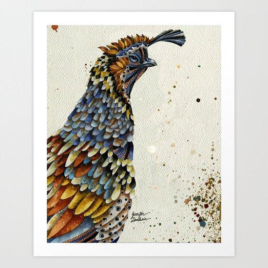 QUAIL KREIOS 2 Art Print