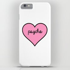 Psycho Pink Heart iPhone 6 Plus Slim Case