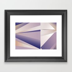 Purple Glam Framed Art Print