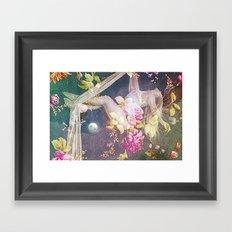 Gravity of Love Framed Art Print