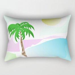 Tropical summer design Rectangular Pillow
