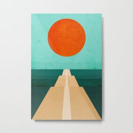 The Road Less Traveled Metal Print