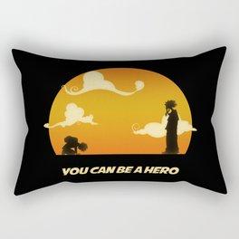 My Hero Sunset Rectangular Pillow