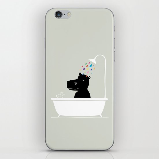 The Happy Shower iPhone & iPod Skin