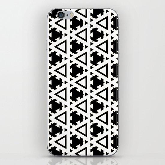 Jeremiassen Black & White iPhone & iPod Skin