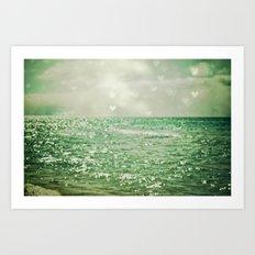 Sea of Happiness Art Print