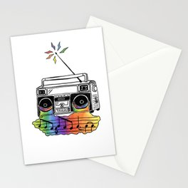 Radio Tears // Drawing by Alex Stationery Cards