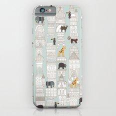urban jungle silver mint Slim Case iPhone 6s