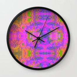 Sedated Abstraction II Wall Clock
