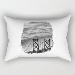 Iowa-Illinois Memorial Bridge - Close Up Rectangular Pillow