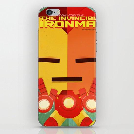ironman fan art iPhone & iPod Skin