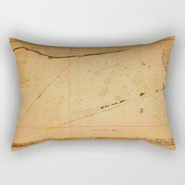 Map of Tripoli 1804 Rectangular Pillow
