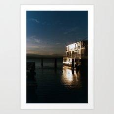film burlington reflection Art Print