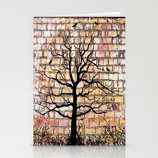 Graffiti Tree Stationery Cards