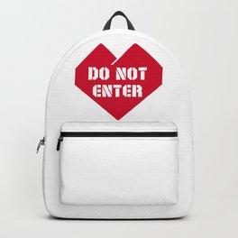 Do Not Enter Backpack