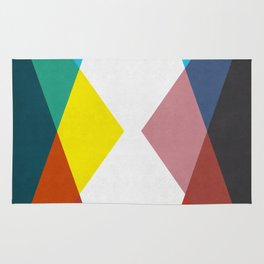 Fusion of triangles Rug