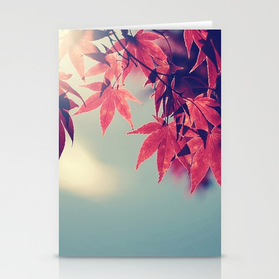 Maple Light Stationery Cards