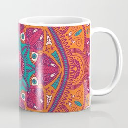 Colorful Mandala Pattern 017 Coffee Mug