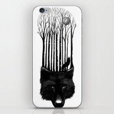 Wolf Barcode iPhone & iPod Skin