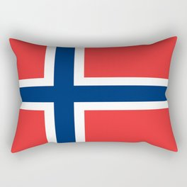 Flag of norway Rectangular Pillow