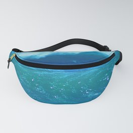 Rogue Waves in Ocean Surf Fanny Pack