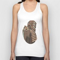 engineer Tank Tops featuring The Engineer by sens