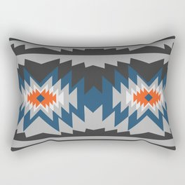 Wintry ethnic pattern Rectangular Pillow