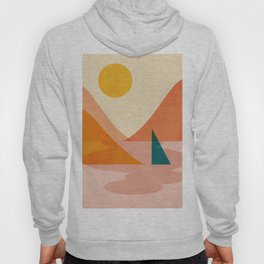 Abstraction_Lake_Sunset Hoody