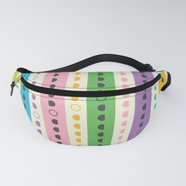 Moon Phases Calendar 2019 Light Fanny Pack