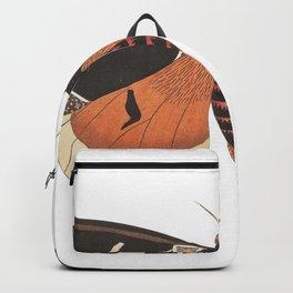 1 Pure White Heron (Ardea modesta) 2 Black Billed Heron (Ardea nigrirostris) from Illustrations of I Backpack