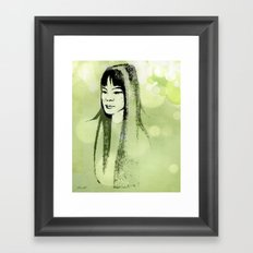 Eastern Princess Framed Art Print
