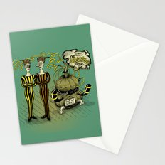 The Electro Bros and The Laugh Machine Stationery Cards