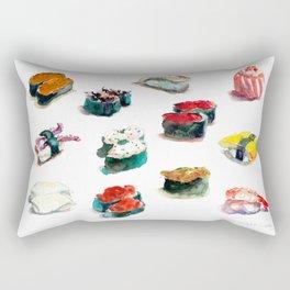 I love Sushi Rectangular Pillow