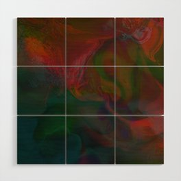 Abstract: lucid dream Wood Wall Art